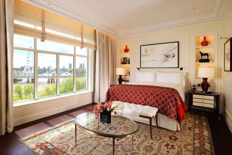 The Savoy Suite Bedroom